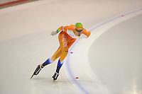 SCHAATSEN: HEERENVEEN: IJsstadion Thialf, 06-10-2012, Trainingswedstrijd, Thomas Krol, ©foto Martin de Jong