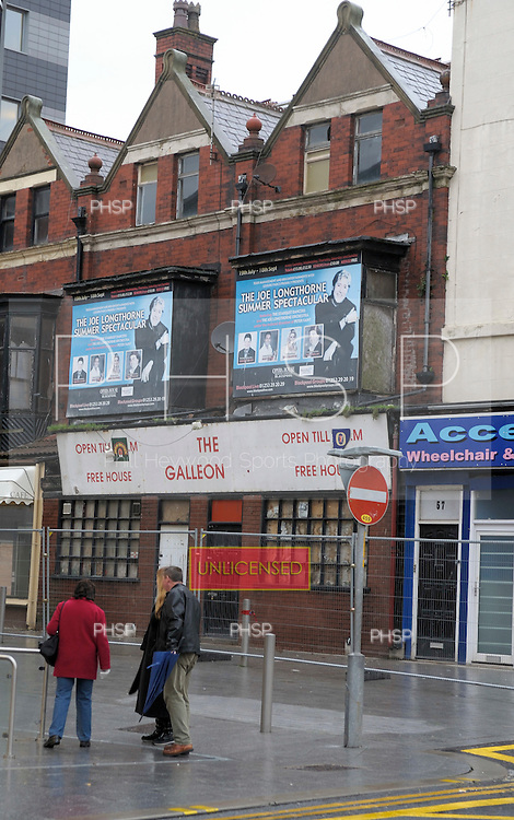 The Galleon awaiting demolition Blackpool Lancashire UK.....© Phill Heywood.