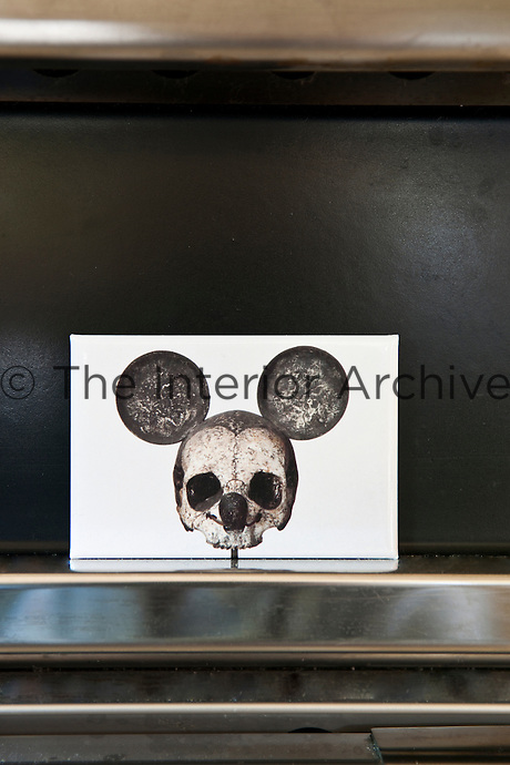 Skull labels designed by Maddalena Caruso