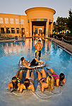 Student life at the Preserves apartment complex pool in Tallahassee, Florida May 11, 2011.