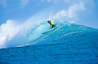 Tom Carroll (AUS) Surfing at G-Land Indonesia on the East Coast of Java, Indonesia.photo:  joliphotos.com