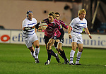 Jamie Robinson breaks for Cardiff. Cardiff Blues V Bath, EDF Energy Cup. &copy; Ian Cook IJC Photography iancook@ijcphotography.co.uk www.ijcphotography.co.uk
