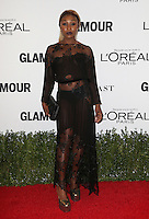 LOS ANGELES, CA - NOVEMBER 14: Cynthia Erivo at  Glamour's Women Of The Year 2016 at NeueHouse Hollywood on November 14, 2016 in Los Angeles, California. Credit: Faye Sadou/MediaPunch