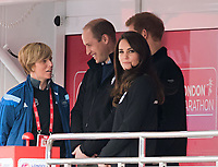 APR 23 William and Kate start London Marathon