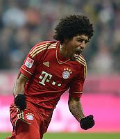 FUSSBALL   1. BUNDESLIGA  SAISON 2012/2013   17. Spieltag FC Bayern Muenchen - Borussia Moenchengladbach    14.12.2012 Dante (FC Bayern Muenchen)