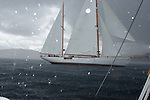 REGATES ROYALES 2007- PANERAI CLASSIC YACHT CHALLENGE- ONBOARD ALTAIR-TEMPEST STRIKES THE CLASSIC BOATS FLEET-SEPTEMBER 27-COPYRIGHT : THIERRYSERAY.COM..nota : I took all these pictures the same day. MG 3885 at 11h24 AM, 3986 at 12h24 PM and 4094 at 13h08 PM