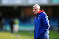 Bath Director of Rugby Todd Blackadder looks on during the pre-match warm-up. European Rugby Challenge Cup match, between Bath Rugby and Pau (Section Paloise) on January 21, 2017 at the Recreation Ground in Bath, England. Photo by: Patrick Khachfe / Onside Images