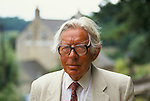 Laurie Lee author  Slad near Stroud Gloucestershire