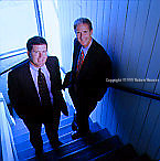David Thatcher - Executive Vice President and CFO, Doug Hickey - President and CEO -  Critical Path: Executive portrait photographs by San Francisco - corporate and annual report - photographer Robert Houser.
