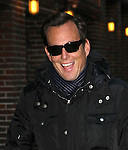 """Celebrities visit """"Late Show with David Letterman"""" New York, Ny January 3, 2012"""
