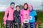 participants who took part in the Kerry's Eye Valentines Weekend 10 mile road race on Sunday were Maureen McAdam, Fiona O'Mahony, Chella Vamossy, Linda O'Sullivan