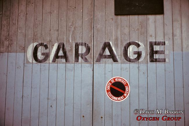 Garage - Don't Park Cars In Front Of Garage