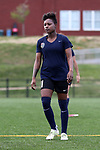 CHARLOTTE, NC - MARCH 25: Courage's Taylor Smith. The NWSL's North Carolina Courage played their first preseason game against the University of Tennessee Volunteers on March 25, 2017, at Queens University of Charlotte Sports Complex in Charlotte, NC. The Courage won the match 3-0.