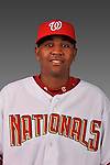 14 March 2008: ..Portrait of Marcos Frias, Washington Nationals Minor League player at Spring Training Camp 2008..Mandatory Photo Credit: Ed Wolfstein Photo