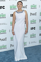 SANTA MONICA, CA, USA - MARCH 01: Gong Li at the 2014 Film Independent Spirit Awards held at Santa Monica Beach on March 1, 2014 in Santa Monica, California, United States. (Photo by Xavier Collin/Celebrity Monitor)