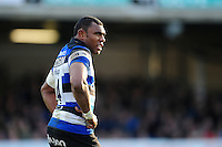 Semesa Rokoduguni of Bath Rugby. Aviva Premiership match, between Bath Rugby and Harlequins on February 18, 2017 at the Recreation Ground in Bath, England. Photo by: Patrick Khachfe / Onside Images