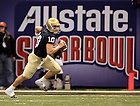 Brady Quinn in the 2007 Sugar Bowl
