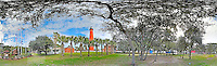 The Lighthouse at Ponce Inlet, Florida is shown in this 360 degree panoramic images taken on January 19, 2014. (Photo by Brian Cleary/ www.bcpix.com )