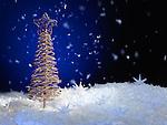 Christmas decoration artistic still life background