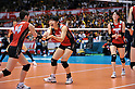 Erika Araki (JPN),.MAY 23, 2012 - Volleyball : FIVB the Women's World Olympic Qualification Tournament for the London Olympics 2012, between Japan 1-3 Korea at Tokyo Metropolitan Gymnasium, Tokyo, Japan. (Photo by Jun Tsukida/AFLO SPORT) [0003].