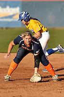 SAN ANTONIO, TX - MARCH 30, 2013: The San Jose State University Spartans versus the University of Texas at San Antonio Roadrunners Softball at Roadrunner Field. (Photo by Jeff Huehn)