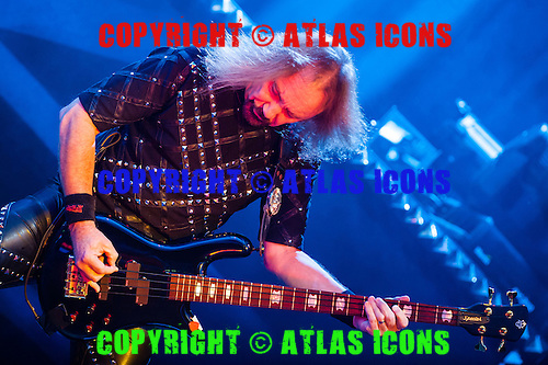 JUDAS PRIEST, 2009, CHRIS SCHWEGLER