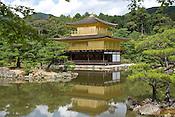 Japan's premier tourist attraction, Kinkaku Temple (Golden Pavilion).
