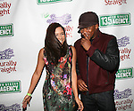 The Breakfast Club's Angela Yee and Sway In The Morning's Sway at   135th Street Agency Holiday Party Featuring the Beautiful Textures 2014 Upfront! And Special Performance by Atlantic Records' Sevyn Streeter Hosted by Angela Yee, Angela Simmons and Sway Calloway Held at Arena, NY