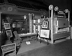 East Liberty PA:  On location photography at the steel equipment trade show at the Hunt Armory. Swindell-Dressler promoting a new Electric Furnace at the trade show - 1931