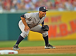 15 June 2012: New York Yankees third baseman Alex Rodriguez in action against the Washington Nationals at Nationals Park in Washington, DC. The Yankees defeated the Nationals 7-2 in the first game of their 3-game series. Mandatory Credit: Ed Wolfstein Photo