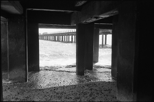 Under Pier, Felixstowe by Paul Cooklin