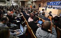 FUSSBALL  CHAMPIONS LEAGUE  ACHTELFINALE  HINSPIEL  2012/2013      CF Real Madrid - Manchester United          12.02.2013 Pressekonferenz