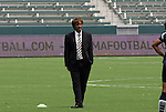 22 August 2009: Los Angeles head coach Abner Rogers. Sky Blue FC defeated the Los Angeles Sol 1-0 at the Home Depot Center in Carson, California in the inaugural WPS Championship game.