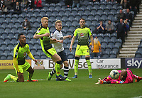 Preston North End's Daryl Horgan scores his sides second goal  beating Reading's Ali Al-Habsi<br /> <br /> Photographer Mick Walker/CameraSport<br /> <br /> The EFL Sky Bet Championship - Preston North End v Reading - Saturday 11th March 2017 - Deepdale - Preston<br /> <br /> World Copyright &copy; 2017 CameraSport. All rights reserved. 43 Linden Ave. Countesthorpe. Leicester. England. LE8 5PG - Tel: +44 (0) 116 277 4147 - admin@camerasport.com - www.camerasport.com
