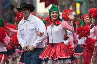 NEW YORK - NOVEMBER 25:  Performers in the annual Macy's Thanksgiving Day Parade  on Thursday, November 25, 2010.