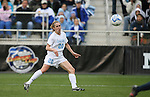 3 December 2006: North Carolina's Heather O'Reilly scores the game's first goal in the 18th minute. The University of North Carolina Tarheels played the University of Notre Dame Fighting Irish at SAS Stadium in Cary, North Carolina in the NCAA Division I Women's College Cup championship game.