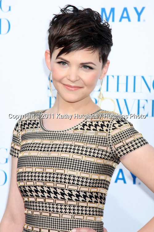 """LOS ANGELES - MAY 3:  Ginnifer Goodwin arriving at the """"Something Borrowed"""" World Premiere at Grauman's Chinese Theater on May 3, 2011 in Los Angeles, CA"""