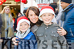 Enjoying the CH Chemist Annual Santa Parade on Saturday were Calvin O'Sullivan, Codie O'Sullivan, Tralee