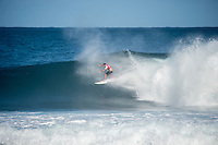 Pipeline,  OAHU - HAWAII, USA: (Friday, December 10, 2015): Adriano de Souza (BRA)  The Billabong Pipe Masters in Memory of Andy Irons was called on this morning, commencing at 8am in 4-to- foot surf at Pipeline Backdoor.<br /> Round Two was completed before the contest was called off for the day as the swell moved more North continued to drop. There was a Womens Expression Session to round out the day at the completion of the men's round..<br />  Photo: joliphotos.com