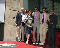 Susan Saint James, her husband & Sons, and Ron Meyer.Susan Saint James receives a Star on the Hollywood Walk of Fame. Los Angeles, CA.June 11, 2008.©2008 Kathy Hutchins / Hutchins Photo .