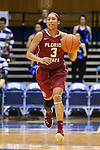 11 February 2016: Florida State's Emiah Bingley. The Duke University Blue Devils hosted the Florida State University Seminoles at Cameron Indoor Stadium in Durham, North Carolina in a 2015-16 NCAA Division I Women's Basketball game. Florida State won the game 69-53.