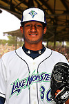 24 June 2008: Vermont Lake Monsters pitcher Randy Matias. Baseball Card Image for 2008. For in-house use by the Vermont Lake Monsters Only. Editorial or other use of images by other publications or media outlets must secure licensing from the photographer Ed Wolfstein prior to publication, and is based on standards of circulation, and placement in a given publication...Mandatory Credit: Ed Wolfstein.