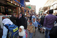 Daily life in Cairo, the biggest city in Africa, with something between 18 and 22 mill. inhabitants. Khan el-Khalili is a major souk in the Islamic district of Cairo. The bazaar is one of Cairo's main attractions.
