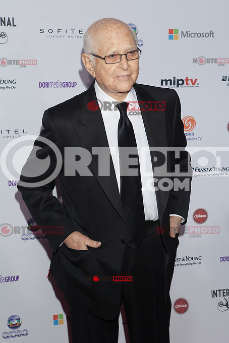 NEW YORK, NY - NOVEMBER 19: Norman Lear at the 40th International Emmy Awards in New York. November 19, 2012. © Diego Corredor/MediaPunch Inc. /NortePhoto