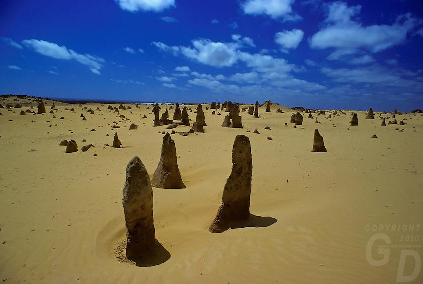 The Pinnacle deseert in Western Australia