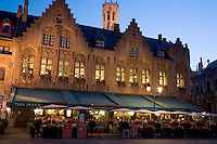 Tom Pouce Restaurant, Borg Place, Bruges, Belgium, Europe