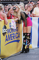 NEW YORK, NY-August 19:  Kelsea Ballerini performed at Good Morning America Summer Concerts Series at ABC Time Square Studio in New York. August 19, 2016. Credit:RW/MediaPunch