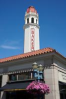 Spanish style Mount Baker Theater, Bellingham, Washington state, USA