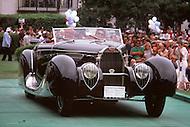 August 26th, 1984. 1939 Bugatti Type 57C Figoni and Falaschi Cabriolet.