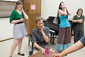 Taylor McCormick, center, and Bobbi Duncan, second from right, sing with the Queer Chorus at The University of Texas in Austin, Texas. Both were inadvertently outed after joining the chorus'es facebook group. April 26, 2012. CREDIT: Lance Rosenfield/Prime for The Wall Street Journal